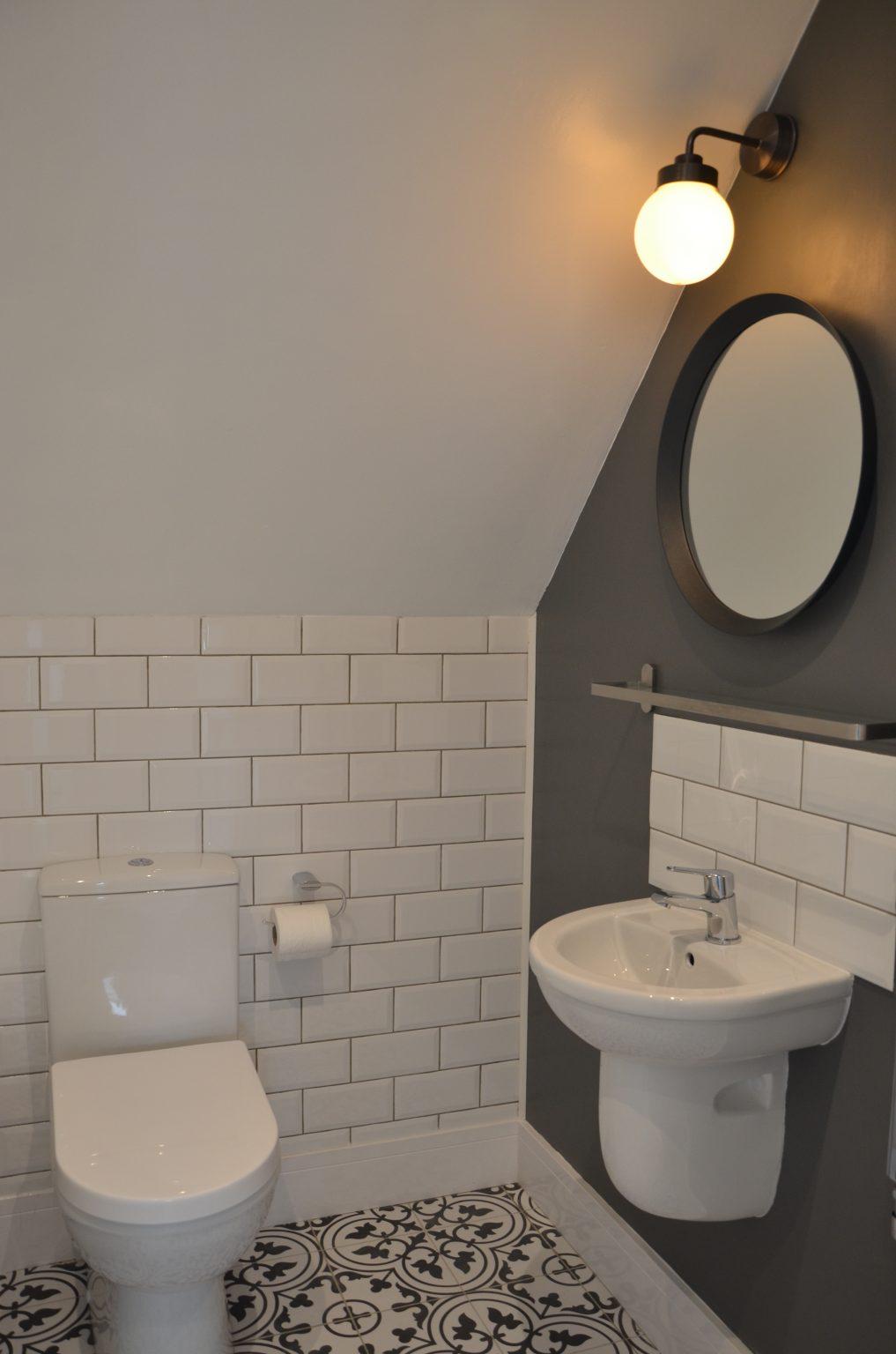 Croft4 bathroom Isle of Skye holiday accommodation self catering