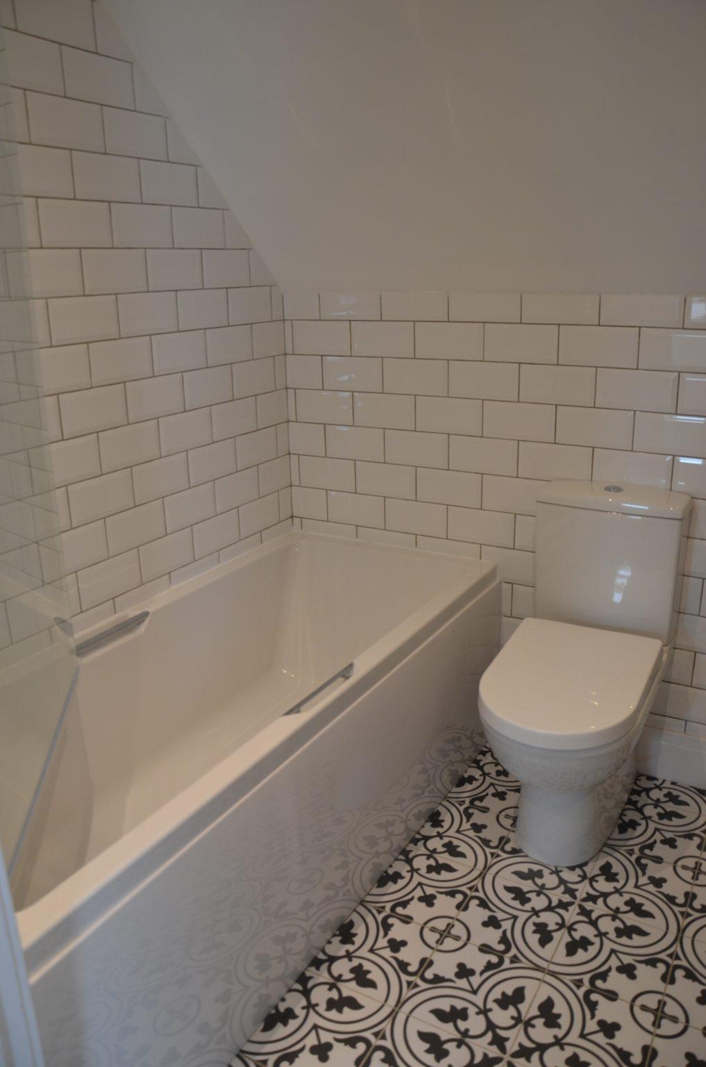 Croft4 bathroom, Isle of Skye holiday accommodation, self catering cottage Scotland